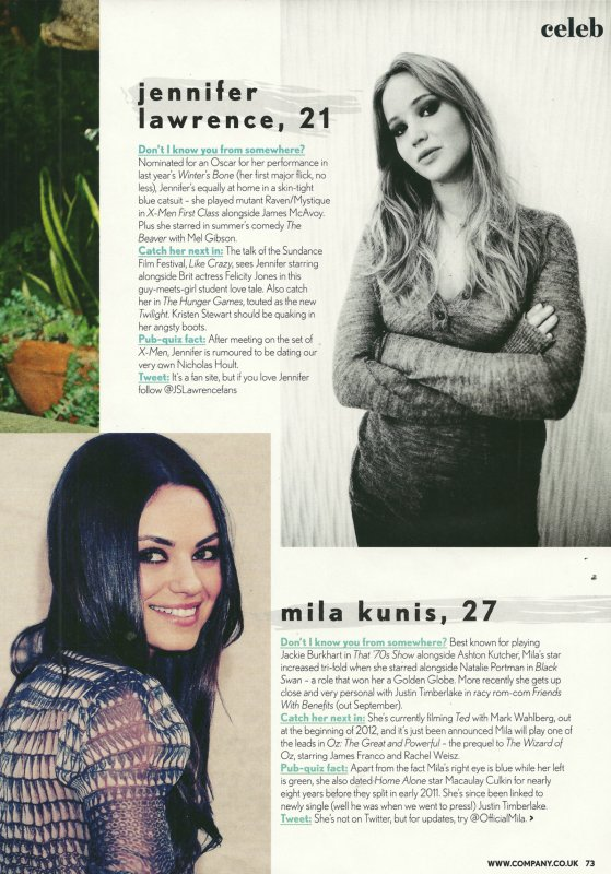 Jenn et Mila Kunis