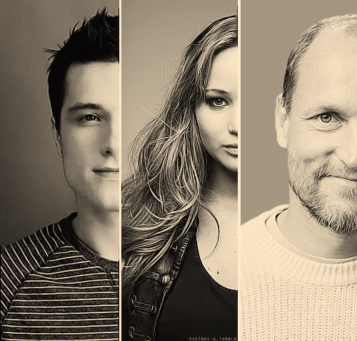 Hunger Games photoshoot