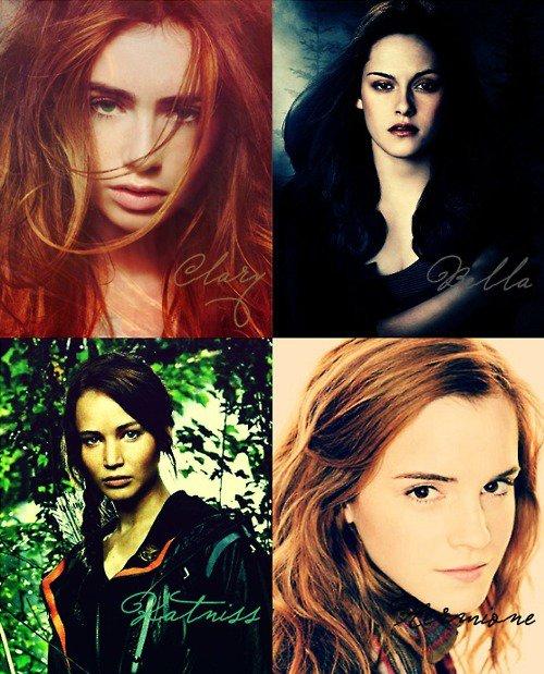 Laquelle de ces 4 héroines prefere tu?