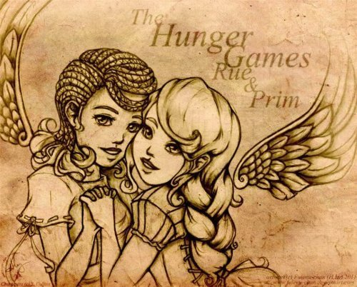 Hunger Games : Dessins/créa