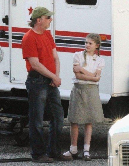 Nouvelles photos du tournage d'Hunger Games