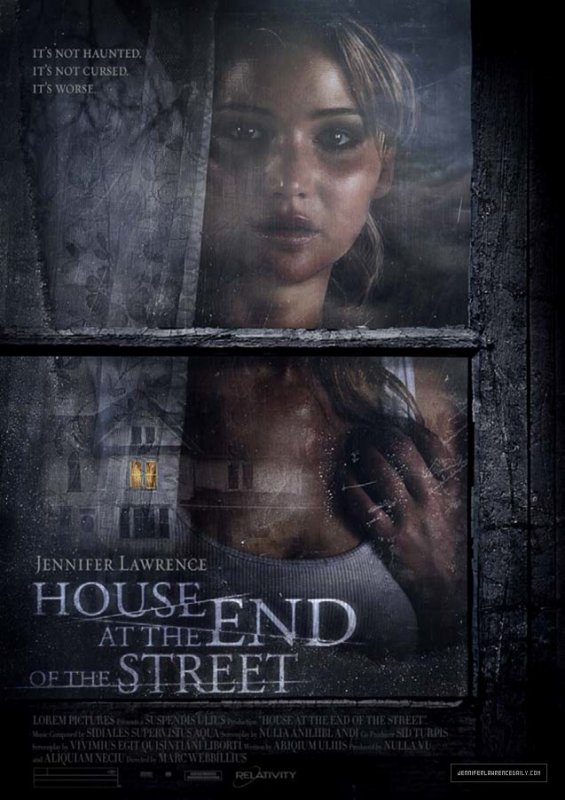 House at the End of the Street: première affiche avec Jennifer Lawrence