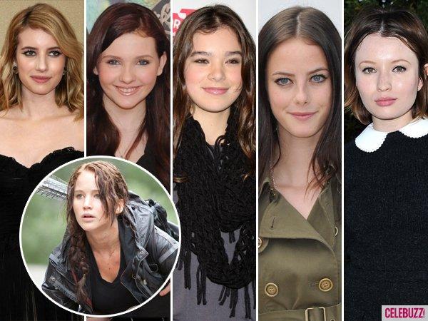 Voici la listes des actrices qui ont auditionnées pour le role de Katniss