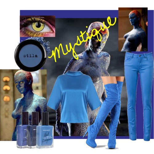 Get the look of Mystique