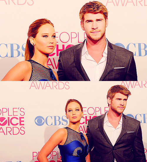 Jennifer aux People Choice awards 2012