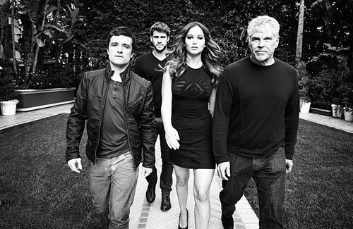 Nouvelles photos Cast Hunger Games