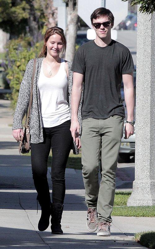 Candids; Jen et Nicholas à la St Valentin