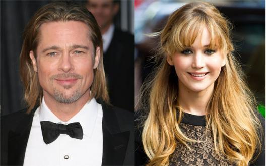 Brad Pitt; coup de coeur pour la belle Jen?