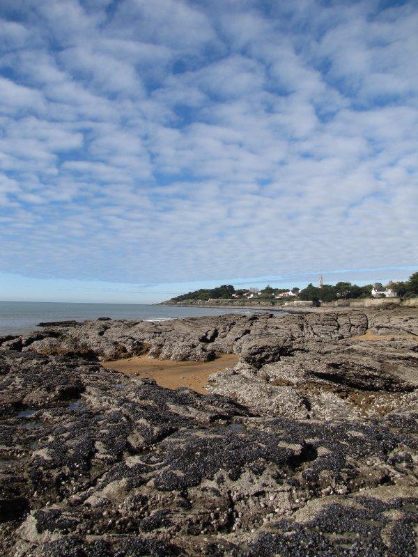 rochers de la plage