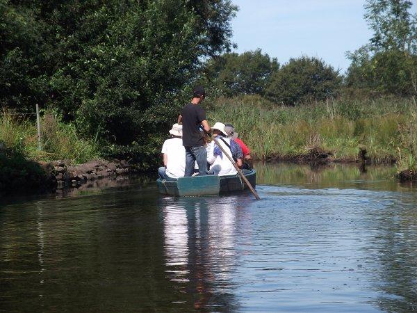 promenede en barque dans les marais bretons