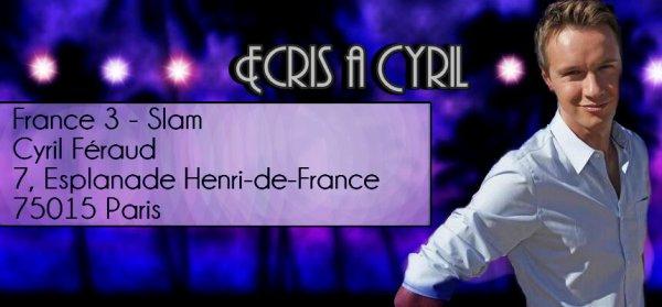 Ecris à Cyril Féraud !