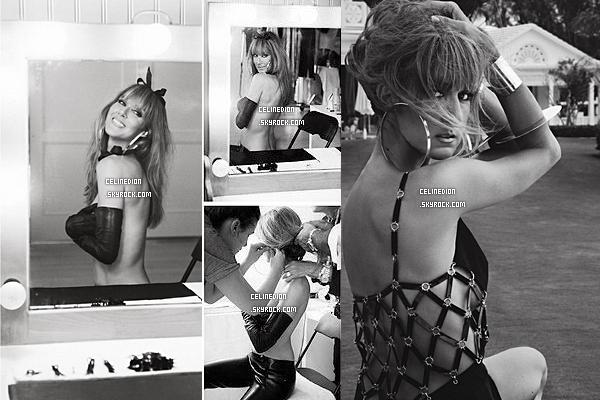 """. NOUVEAU PHOTOSHOOT : Céline Dion pose pour le magazine Nord-américain """" V. """"Cette édition sera dans les kiosques au marchant de journaux le 30 août, pour les américains. ."""