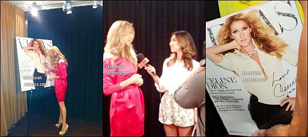 . NOUVELLES PHOTOS : Céline Dion avec une fan le 17 juin 2012 + avec Joseph Vann et AbbyTegnelia (VegasMagazine) + avec Le directeur du marketing (Hôtel George V à Paris - Où Céline et sa famille quand ils iront à Paris) à Las Vegas..