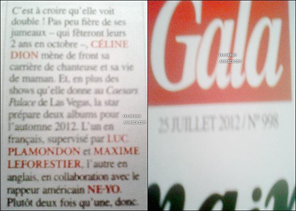 """NOUVELLE INTERVIEW DE CELINE DION POUR LE MAGAZINE """" VEGAS. """""""