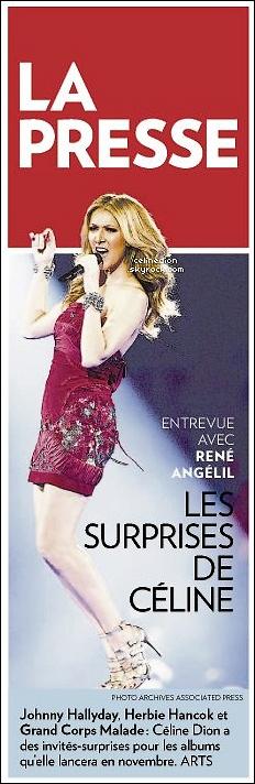 """. Céline Dion écrit une chanson pour le film """"Song For Marion"""" / Nouvelles du nouvel album. ."""