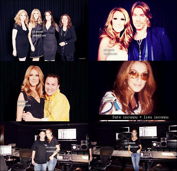 . NOUVELLES PHOTOS : Céline Dion avec ses fans + avec le coiffeur Chaz Dean à Las Vegas le 24 juillet 2012 → Céline est dans le site du studio d'enregistrement de Las Vegas ici. .