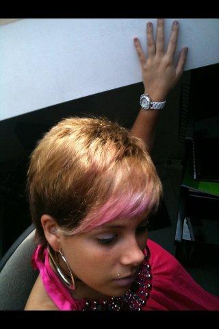 Cheveux court