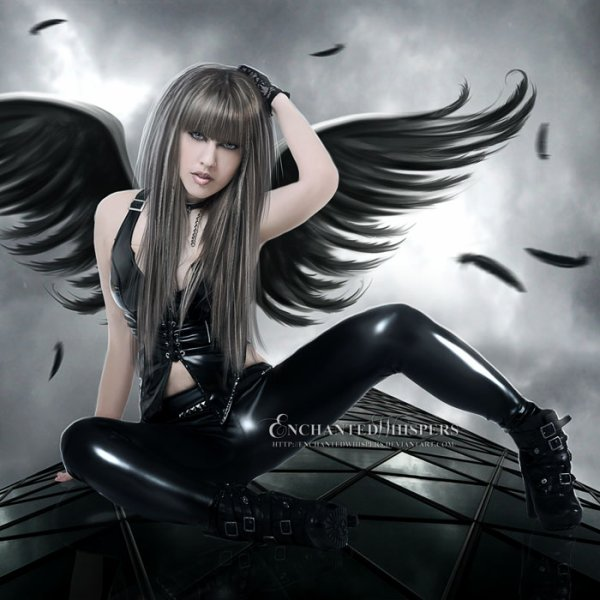 Who am I? Angel or devil ...