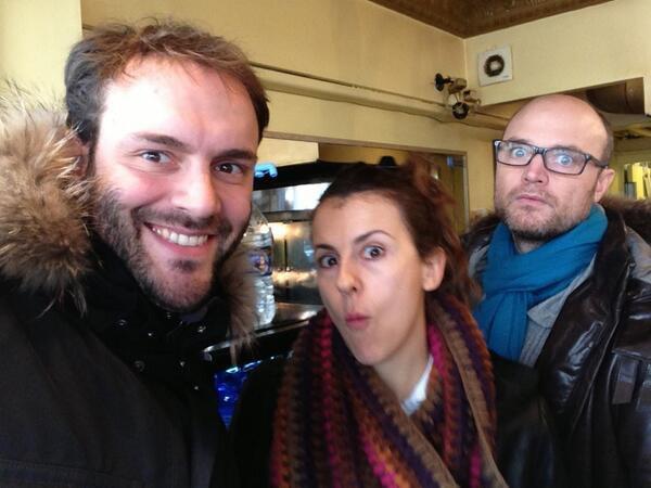 Nicole, Charles et Antoine