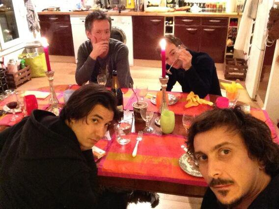 Jean-Luc, Jonathan,Nono et Jerem