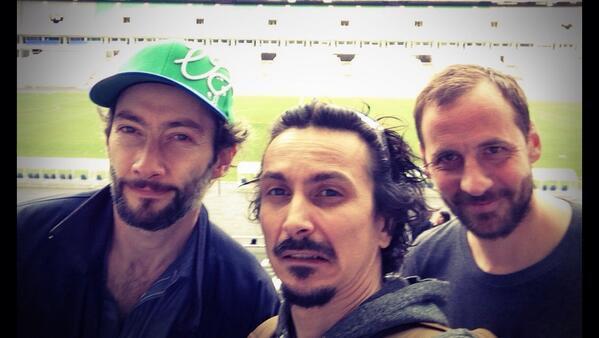 Nono avec Fred et Vincent
