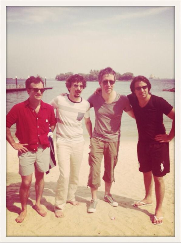 Nono,Jerem,Jean-Luc et Jonathan