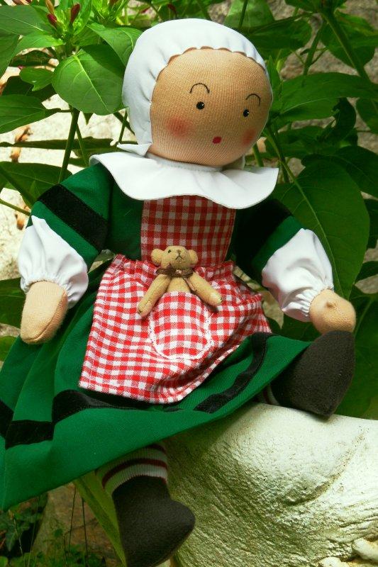 Bécassine enfant, poupée de 40cm