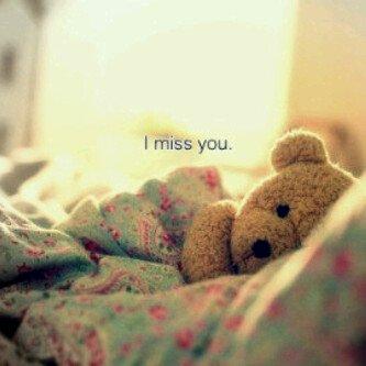 I miss U...