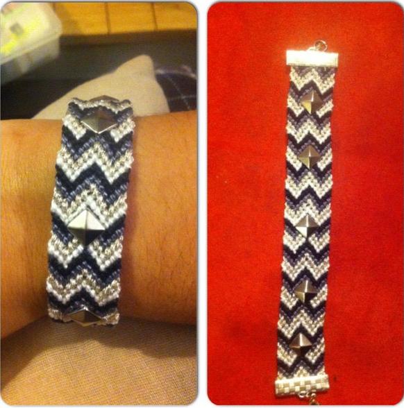 Bracelet en double V