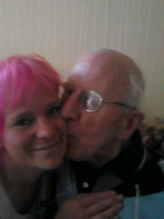 mon grand père et moi ❤❤❤ tu me manques pépère