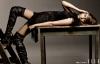 Miley Cyrus pose pour le Magasine Elle.