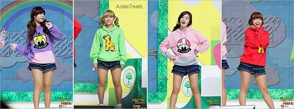 . Secret étaient présente au MBC 2011 New Life For Children ou elles ont interprété Shy Boy .