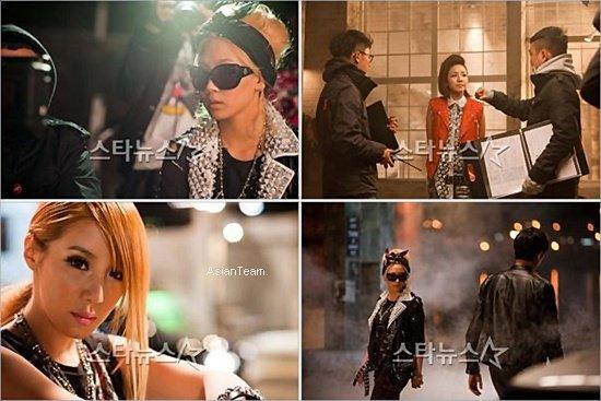 """. De nouvelles photos du MV """"Lonely"""" de 2NE1 viennent d'apparaitre. Magnifique ."""