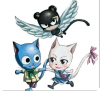 Fairy Tail .Je suis  l'animé . Pas  le Manga.