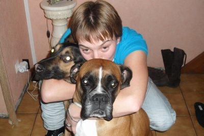 moi et les chiens