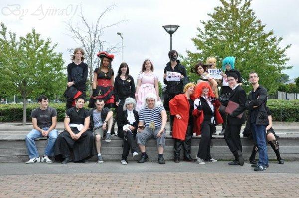 Sortie cosplay !!