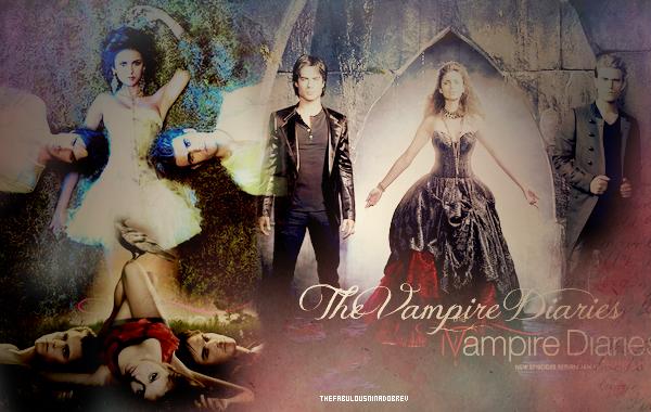 "La série ""The Vampire Diaries"""