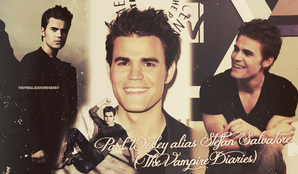 Paul Wesley alias Stefan Salvatore (The Vampire Diaries)