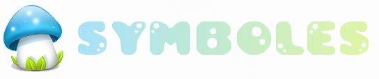• • Quelques symboles pour votre blog.