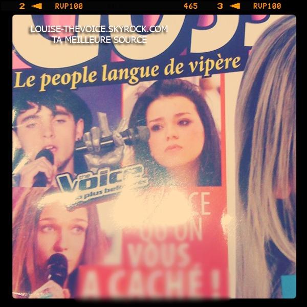 Louise dans les magazines people ! ♥