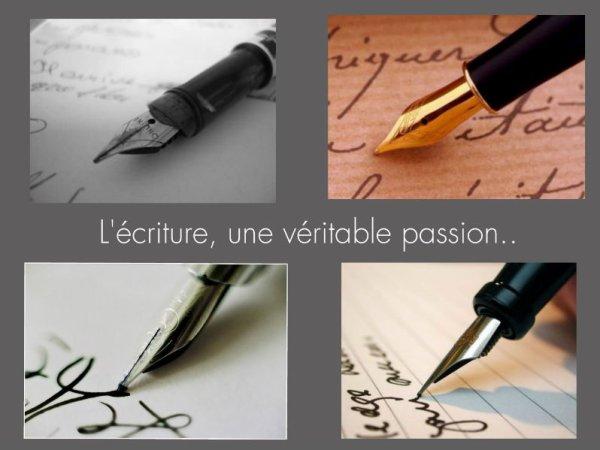 Montages : écriture.