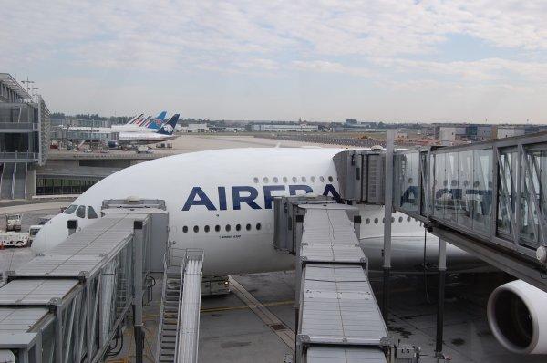 Vol en A380-800 d'Air France