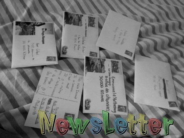 Prévenus / Newsletter
