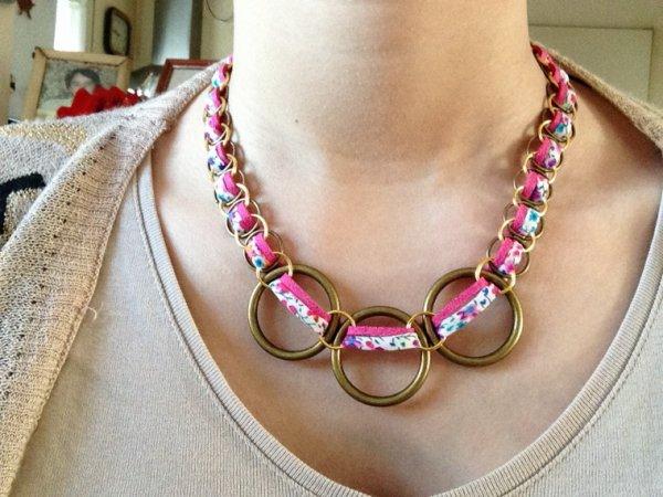 Collier anneaux