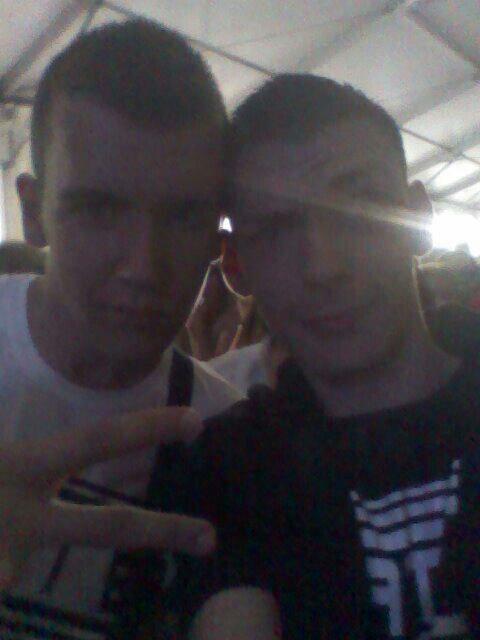 Mon frère et moi au concert de la SEXION DASSAUT !!!