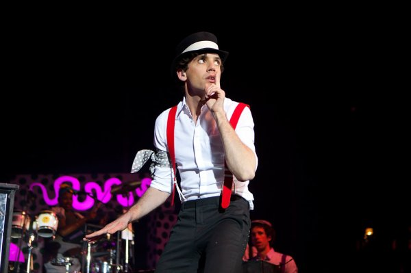 Mika concert Londres