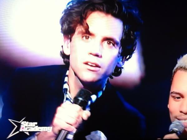 Mika a la star academy !