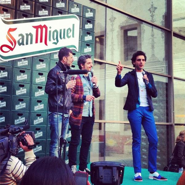 Mika pub pour San Miguel