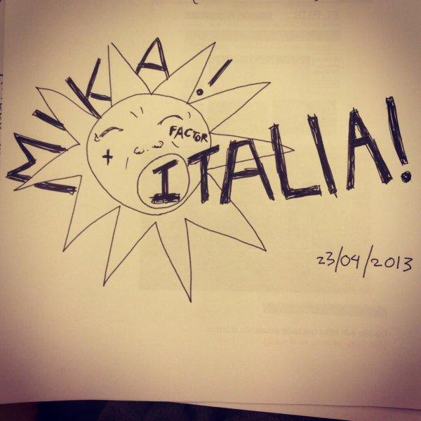 Mika juge a X factor 7 ( italie )