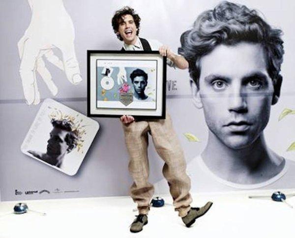 Mika seoul + disque d'or